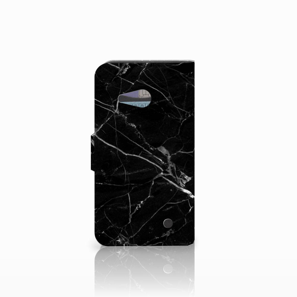 Microsoft Lumia 550 Bookcase Marmer Zwart