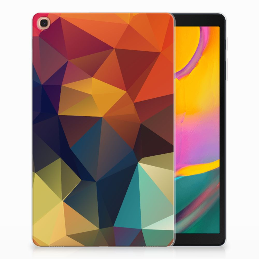 Samsung Galaxy Tab A 10.1 (2019) Back Cover Polygon Color