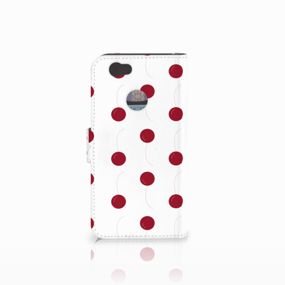 Huawei Nova Book Cover Cherries