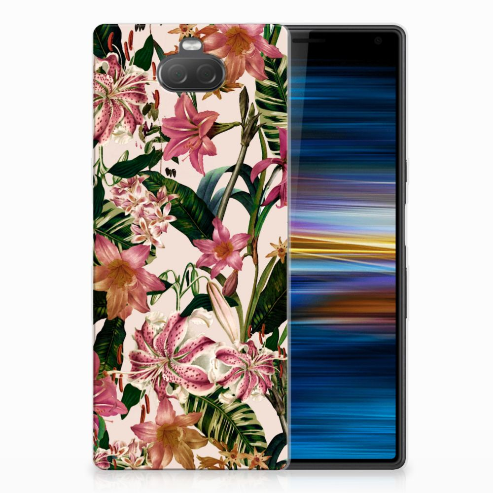 Sony Xperia 10 TPU Case Flowers