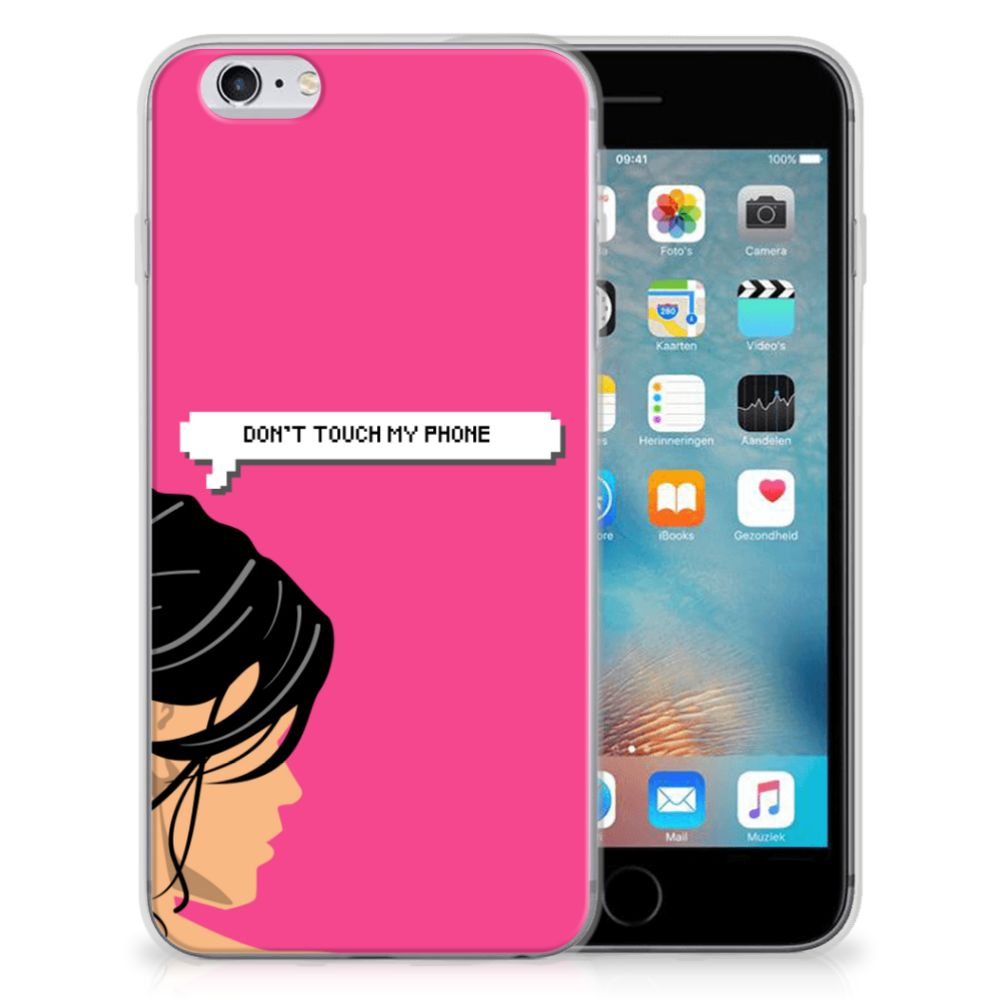 Apple iPhone 6 | 6s Silicone-hoesje Woman DTMP