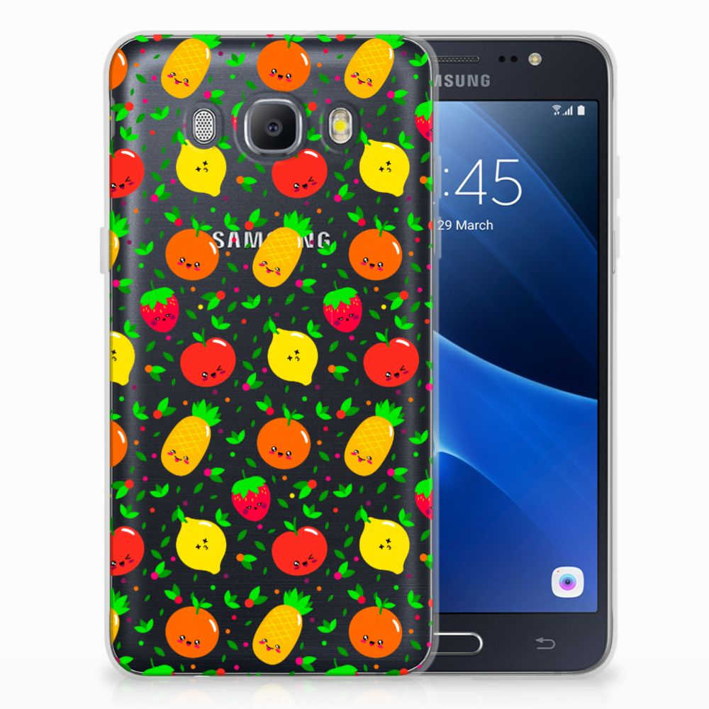 Samsung Galaxy J5 2016 Siliconen Case Fruits