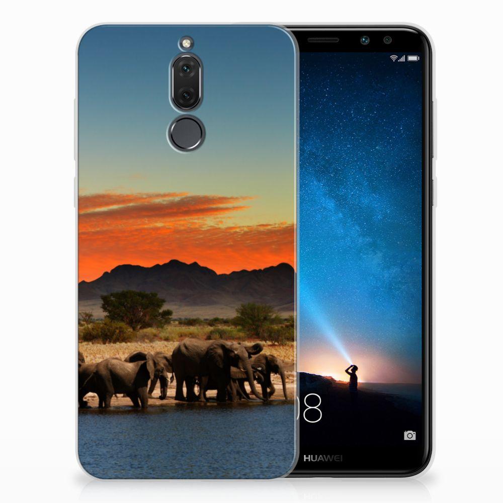 Huawei Mate 10 Lite TPU Hoesje Design Olifanten