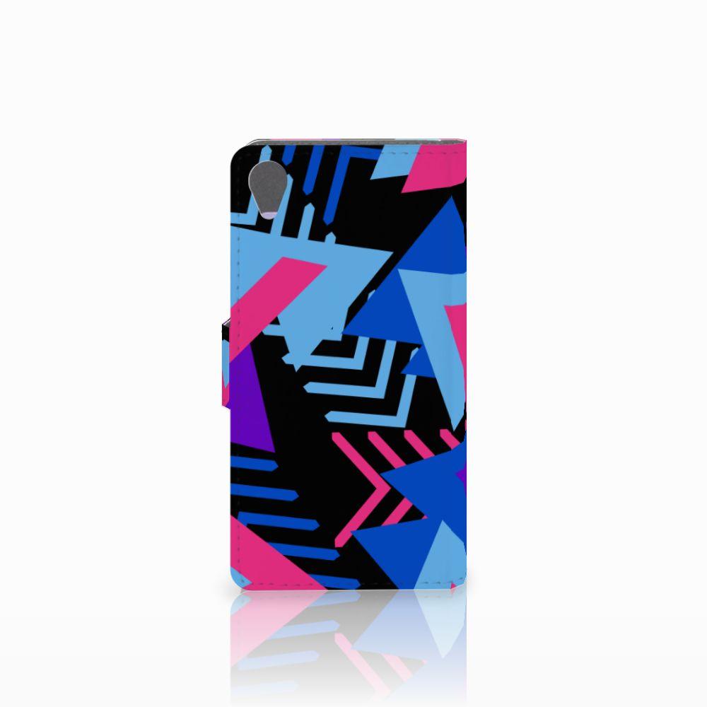 Sony Xperia X Bookcase Funky Triangle