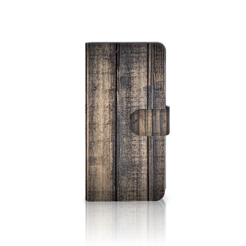Huawei Mate 10 Pro Boekhoesje Design Steigerhout