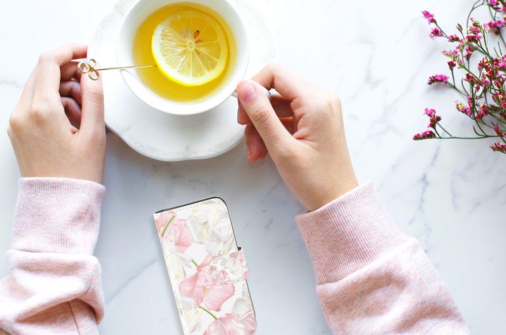Apple iPhone 5 | 5s | SE Boekhoesje Design Lovely Flowers