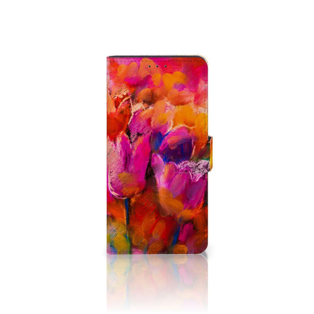 Motorola Moto Z Play Boekhoesje Design Tulips