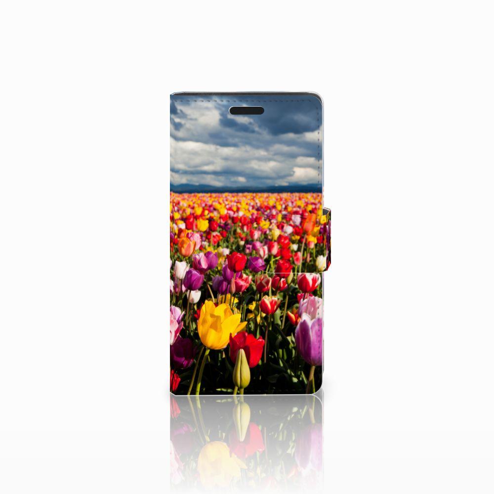 LG Leon 4G Uniek Boekhoesje Tulpen