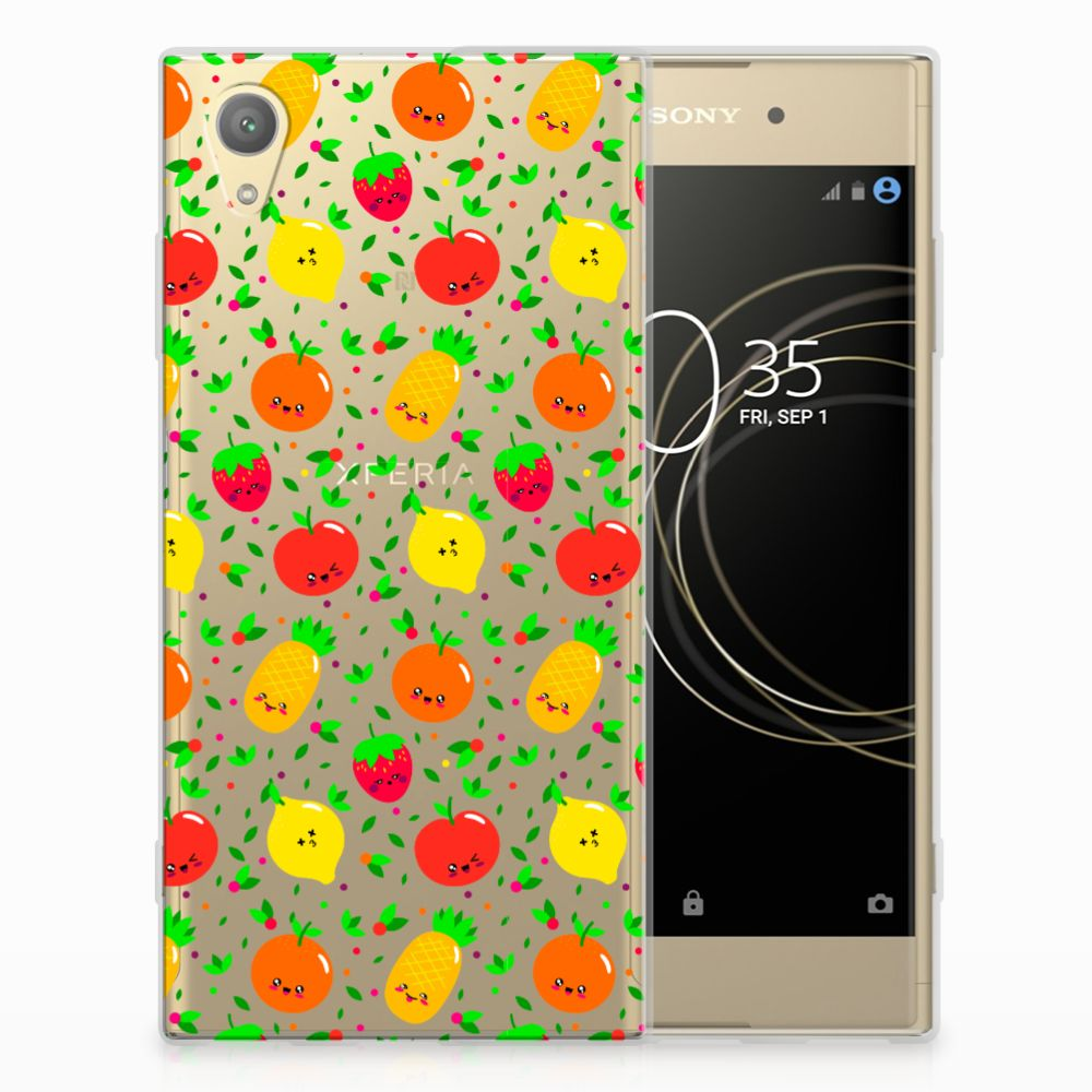 Sony Xperia XA1 Plus Siliconen Case Fruits