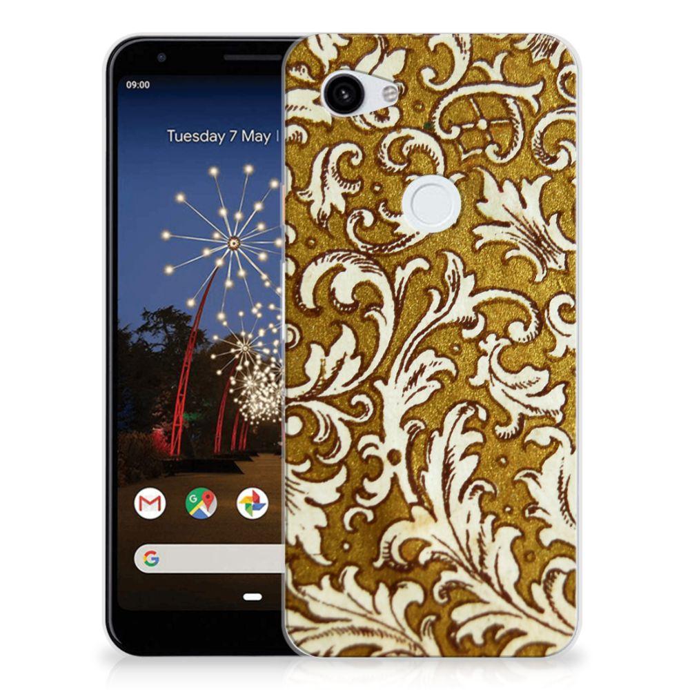 Siliconen Hoesje Google Pixel 3A XL Barok Goud