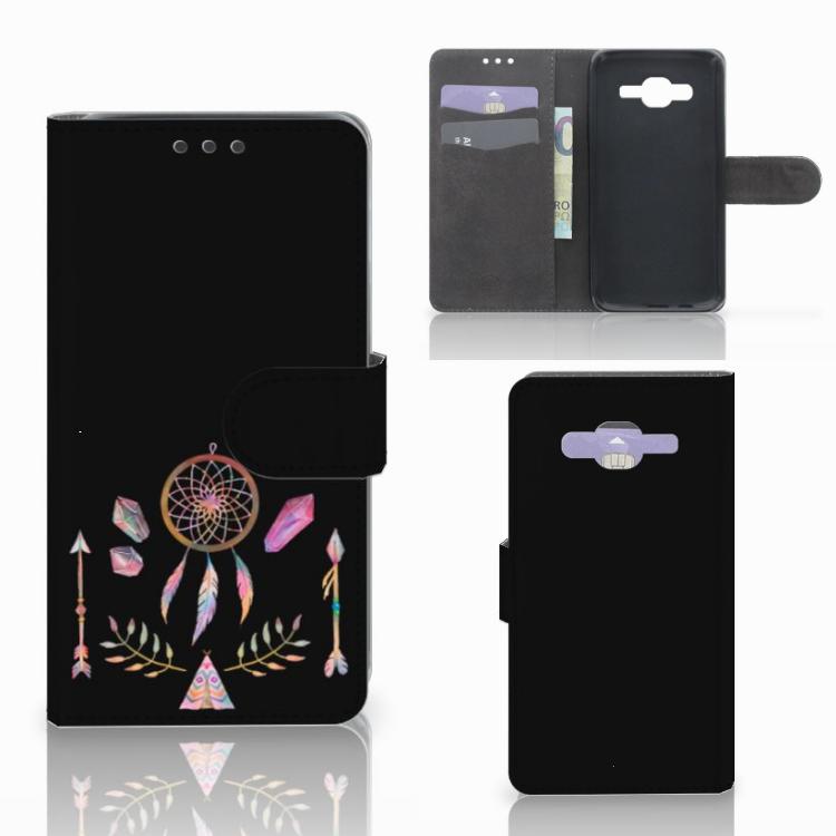 Samsung Galaxy J5 (2015) Leuk Hoesje Boho Dreamcatcher