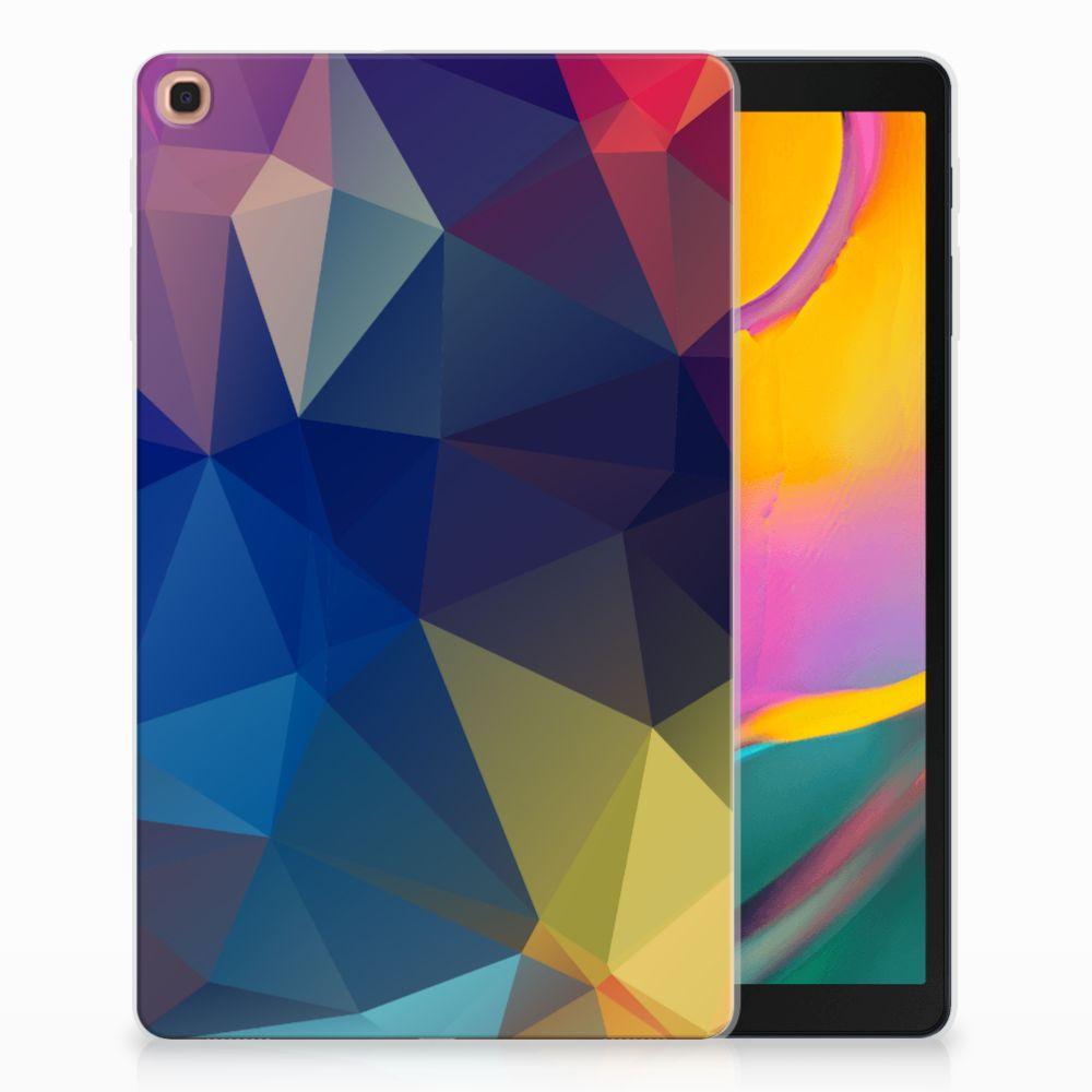 Samsung Galaxy Tab A 10.1 (2019) Back Cover Polygon Dark