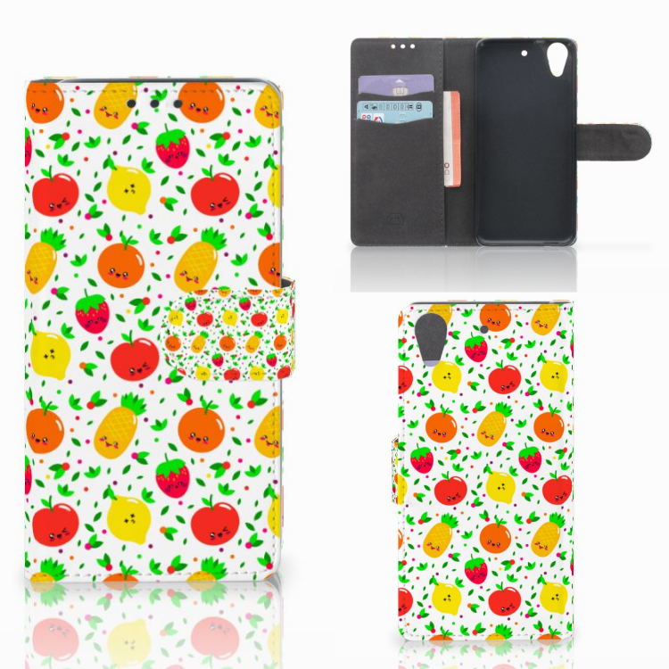 HTC Desire 626 | Desire 626s Book Cover Fruits