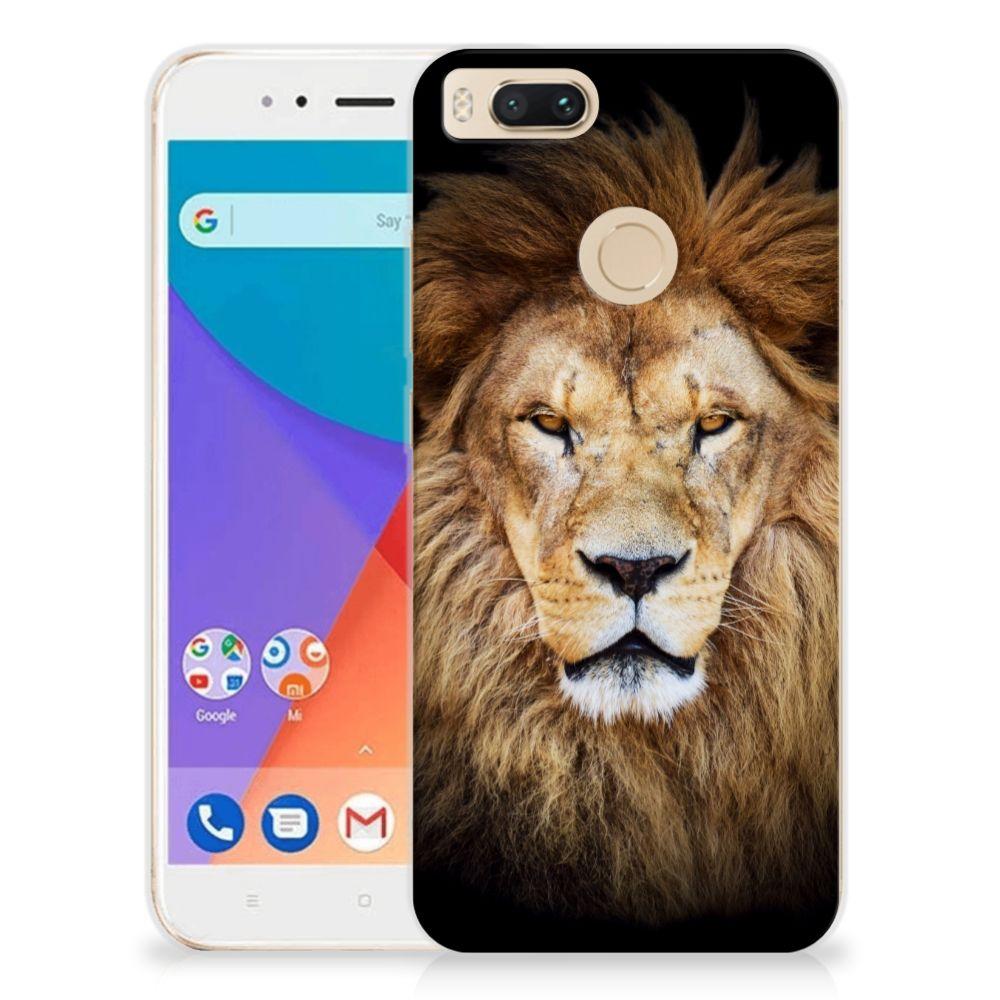 Xiaomi Mi A1 TPU Hoesje Leeuw