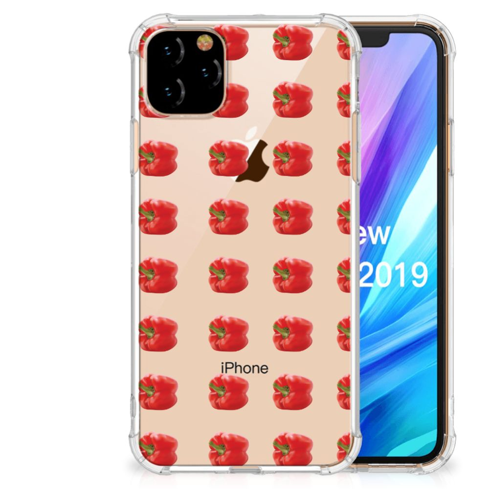Apple iPhone 11 Pro Max Beschermhoes Paprika Red