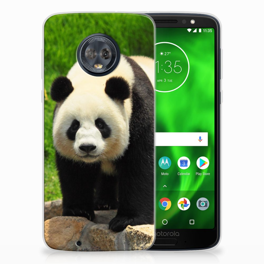 Motorola Moto G6 TPU Hoesje Design Panda