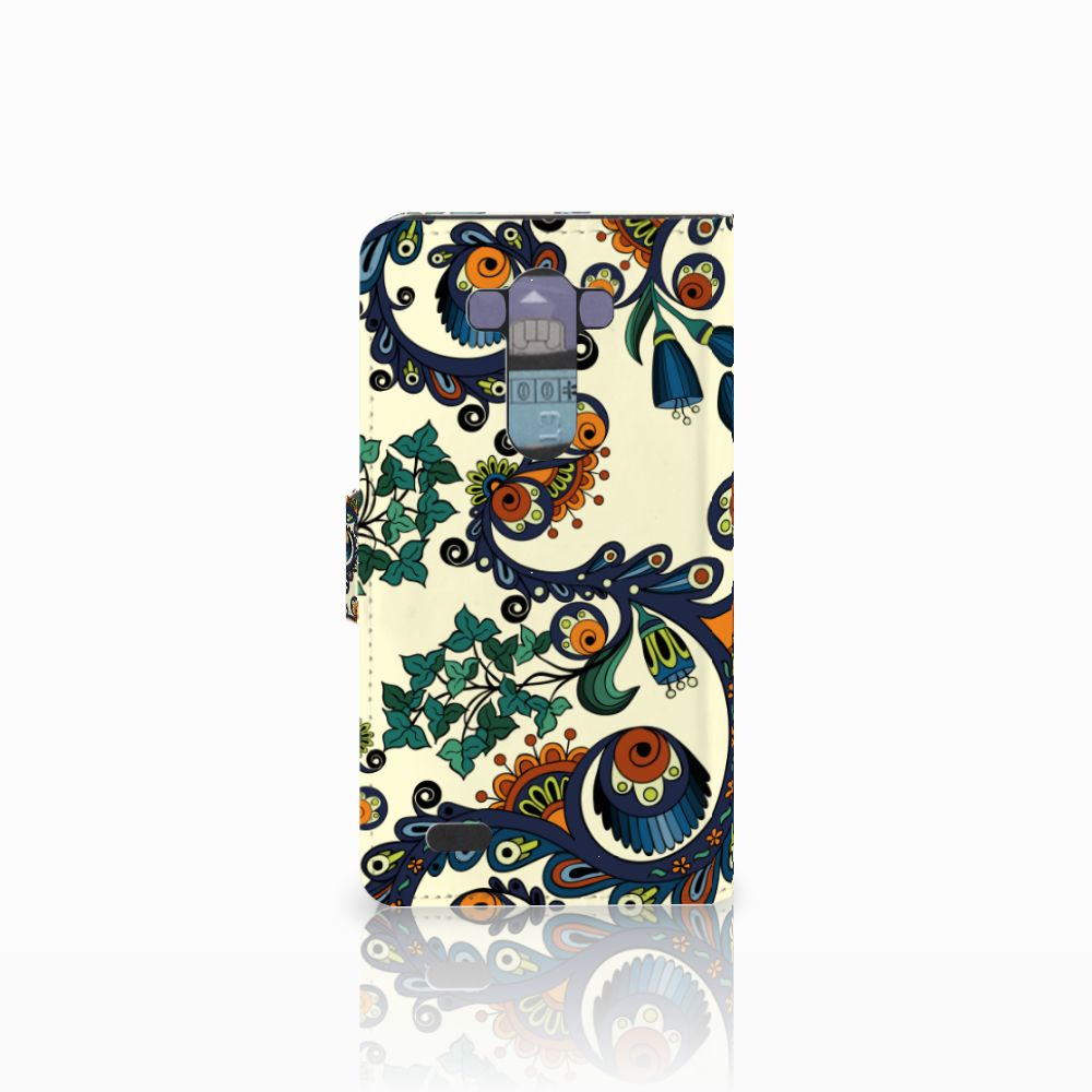Wallet Case LG G3 Barok Flower