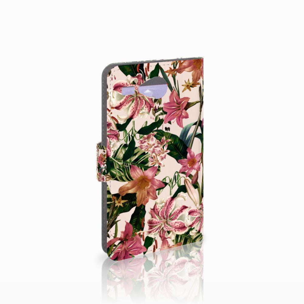 Acer Liquid Z520 Uniek Boekhoesje Flowers