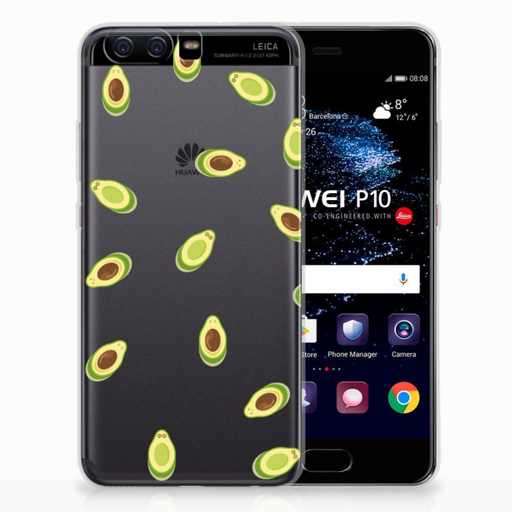 Huawei P10 Siliconen Case Avocado