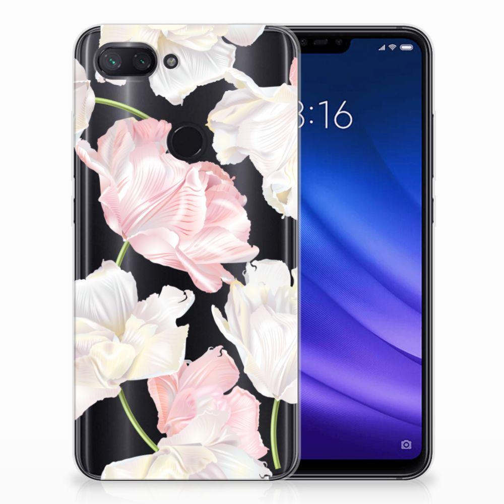 Xiaomi Mi 8 Lite TPU Hoesje Design Lovely Flowers