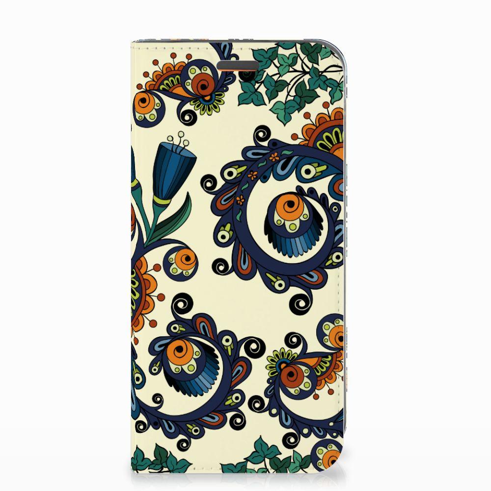 Telefoon Hoesje Motorola Moto E5 Play Barok Flower