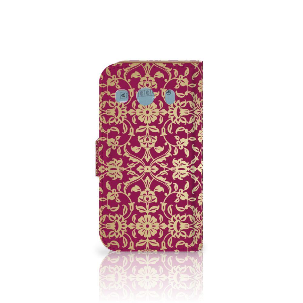 Wallet Case Samsung Galaxy Ace 4 4G (G357-FZ) Barok Pink