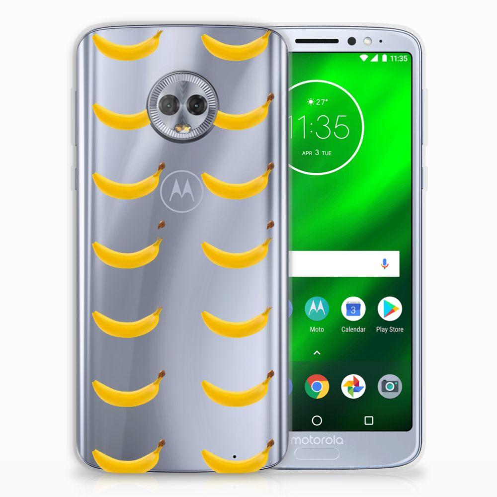 Motorola Moto G6 Plus Siliconen Case Banana