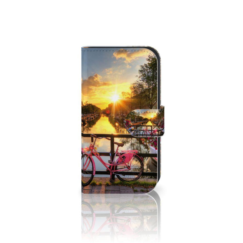 Samsung Galaxy Ace 4 4G (G357-FZ) Uniek Boekhoesje Amsterdamse Grachten