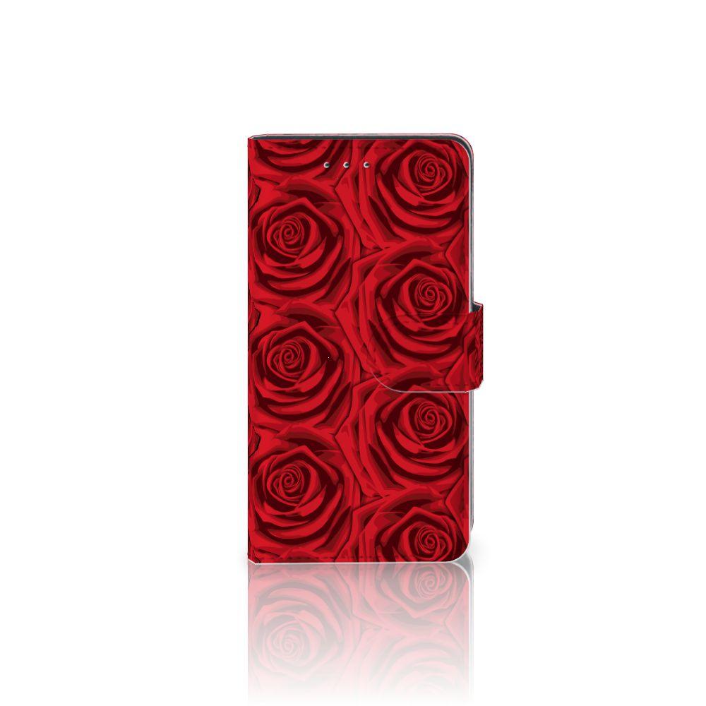 Motorola Moto G 3e Generatie Uniek Boekhoesje Red Roses