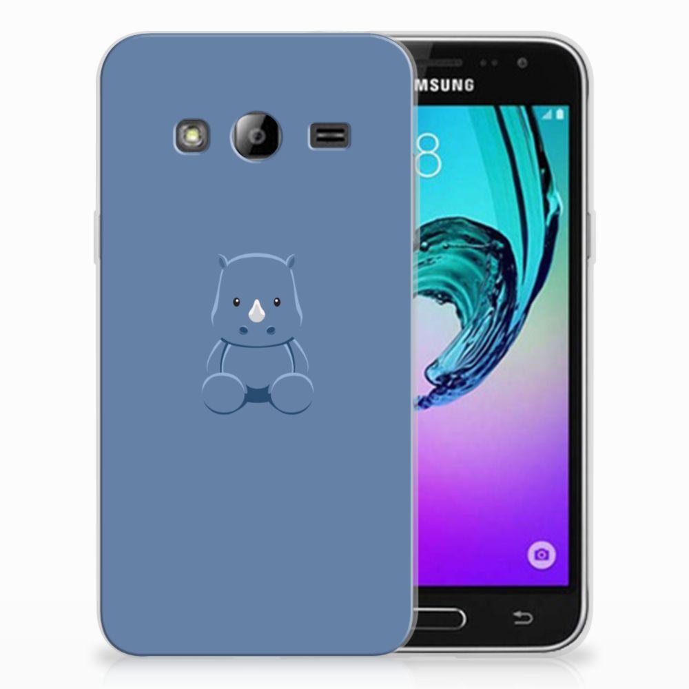 Samsung Galaxy J3 2016 Uniek TPU Hoesje Baby Rhino