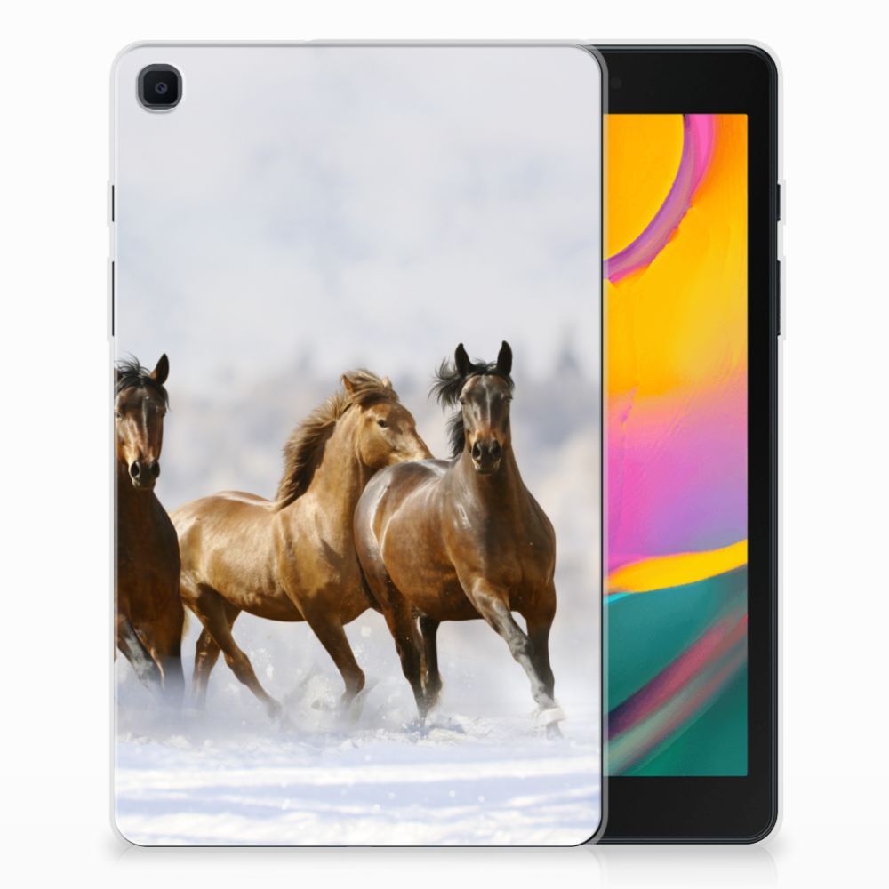 Samsung Galaxy Tab A 8.0 (2019) Back Case Paarden