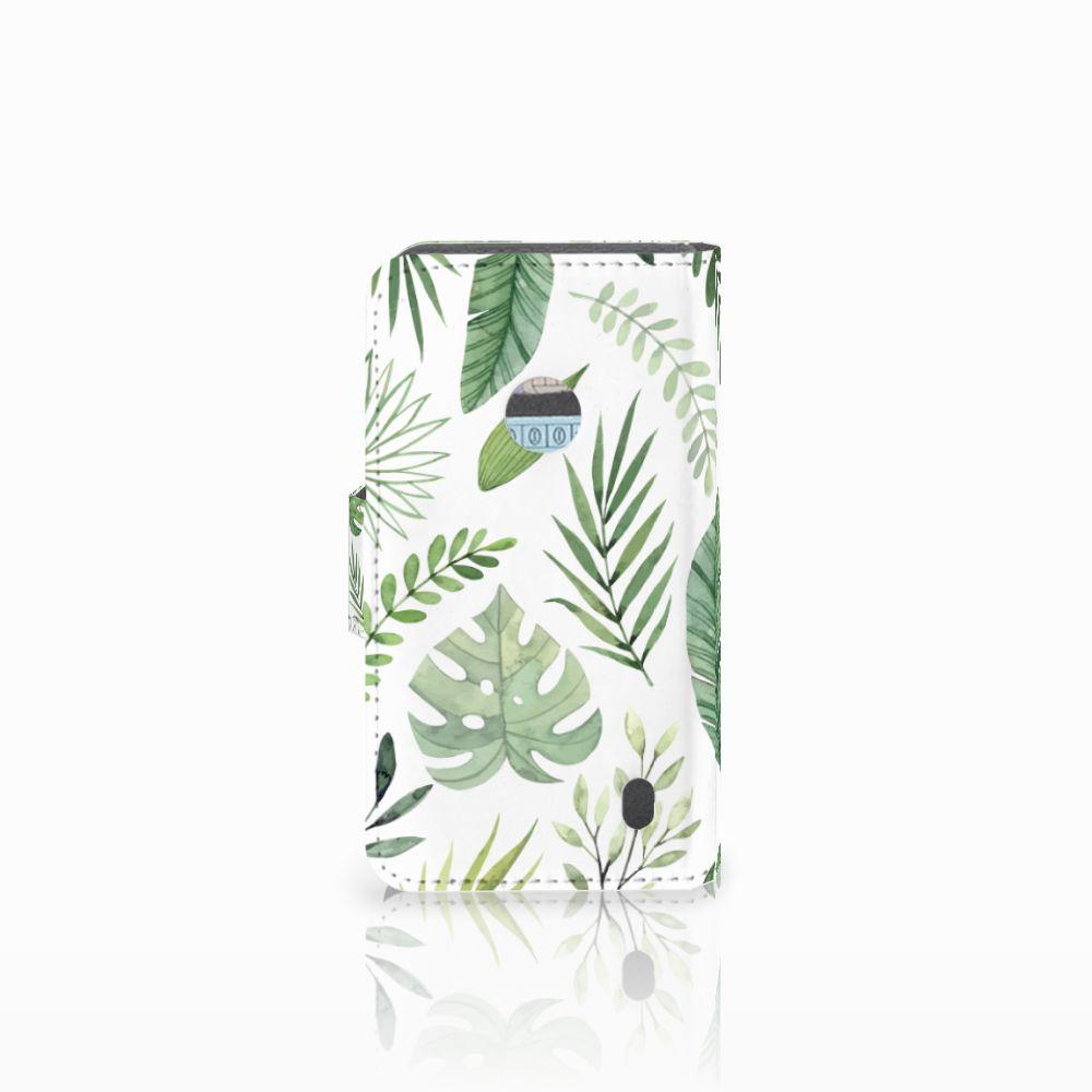 Nokia Lumia 520 Hoesje Leaves