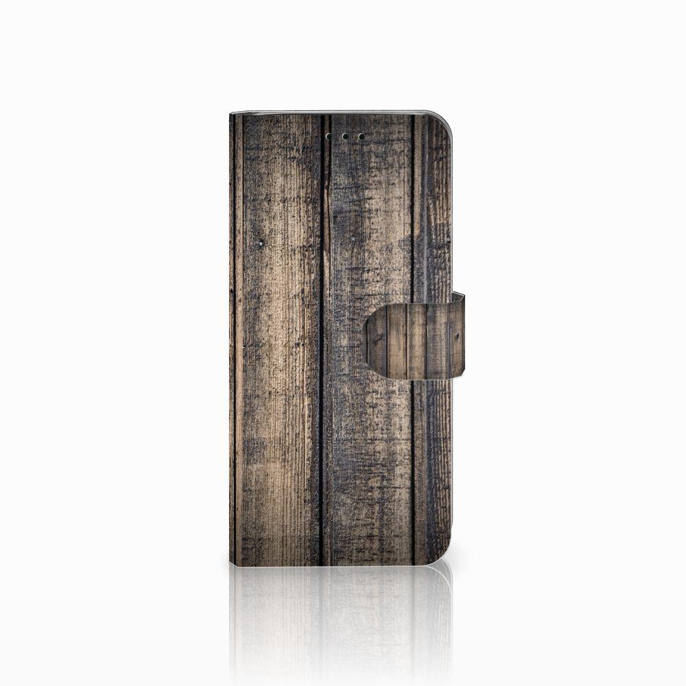 Samsung Galaxy J6 2018 Boekhoesje Design Steigerhout