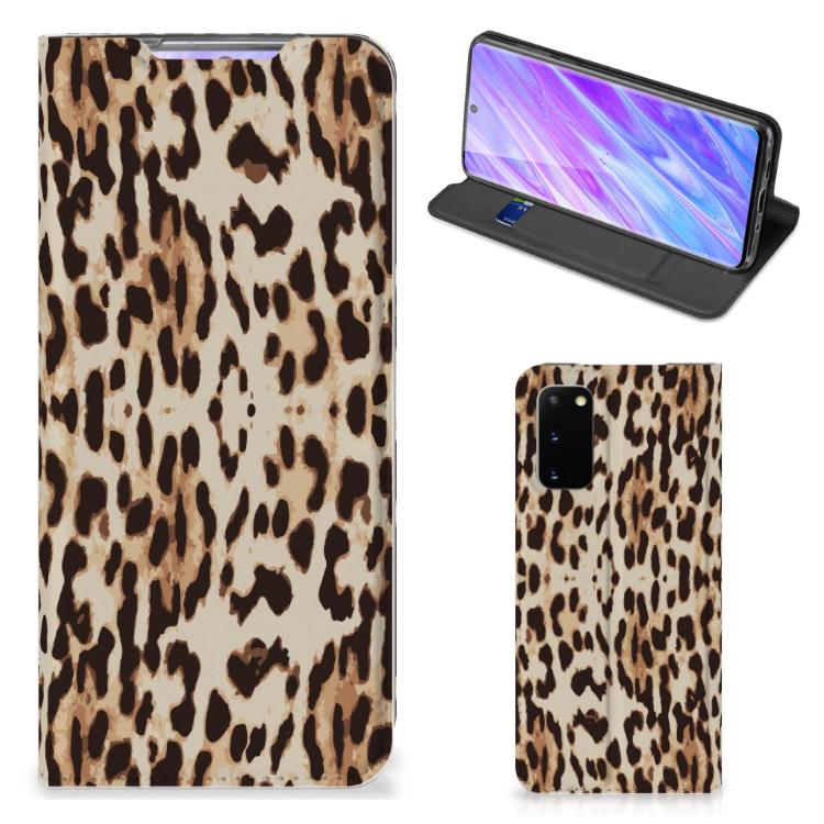 Samsung Galaxy S20 Hoesje maken Leopard
