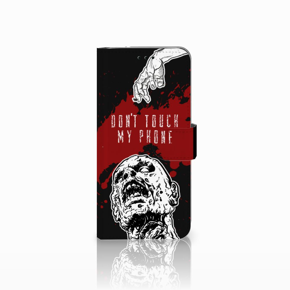 Samsung Galaxy J6 2018 Boekhoesje Design Zombie Blood