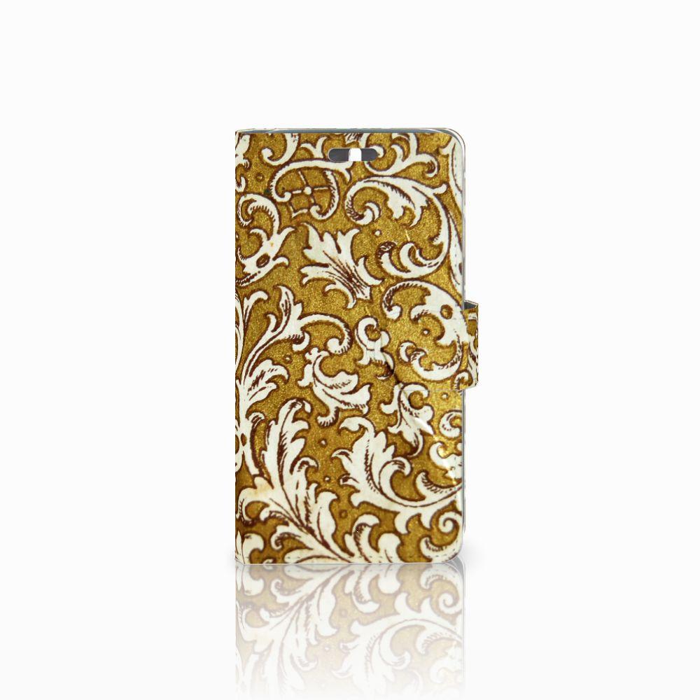 Wallet Case Huawei Y625 Barok Goud