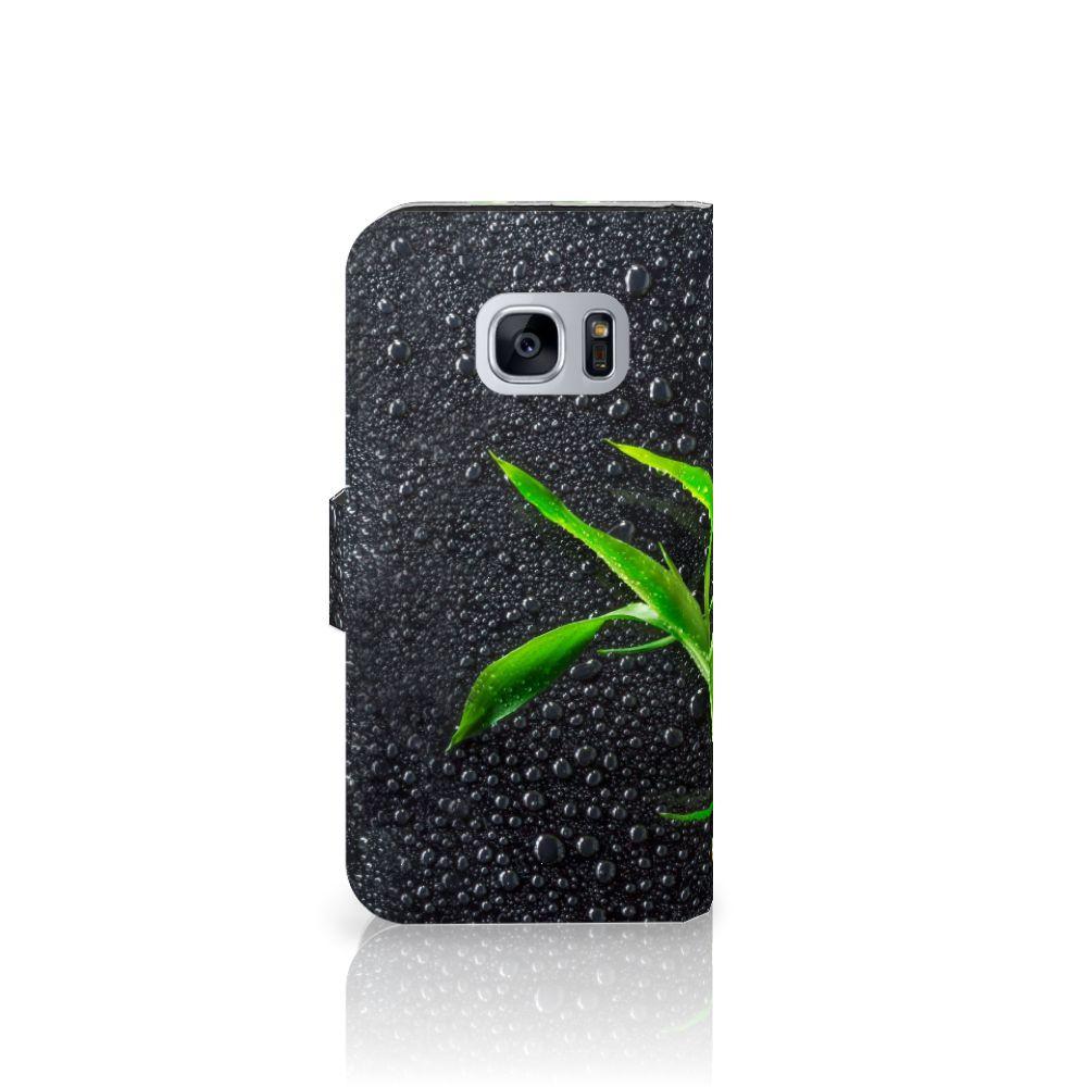 Samsung Galaxy S7 Hoesje Orchidee