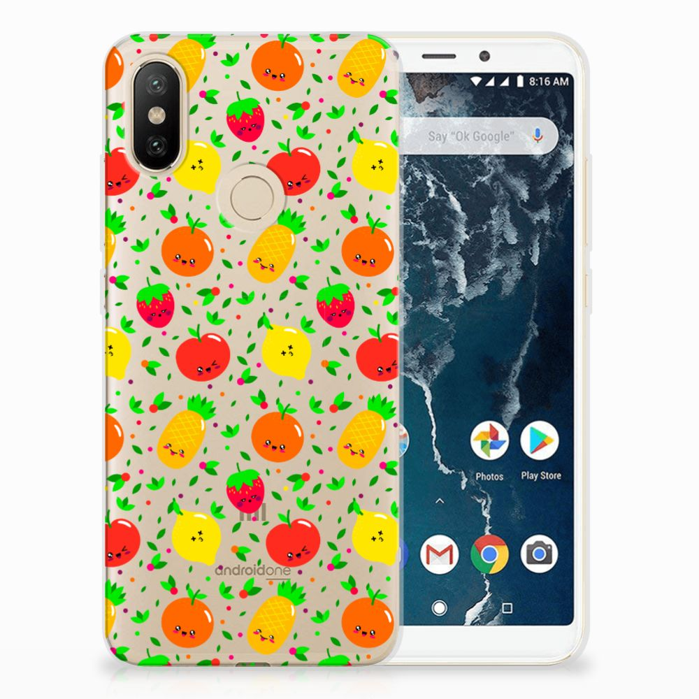 Xiaomi Mi A2 Siliconen Case Fruits