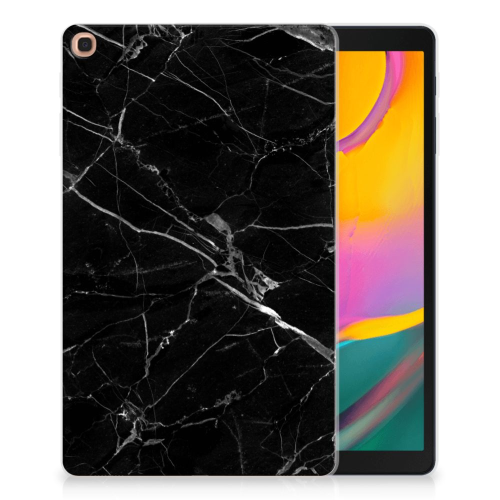 Samsung Galaxy Tab A 10.1 (2019) Tablet Back Cover Marmer Zwart