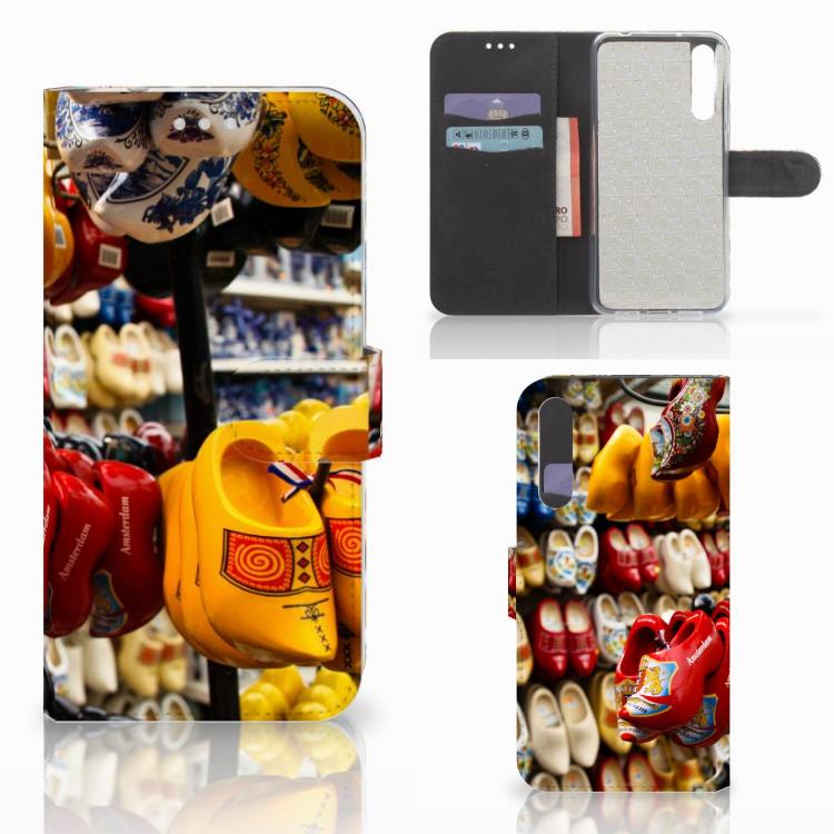 Huawei P20 Pro Flip Cover Klompen
