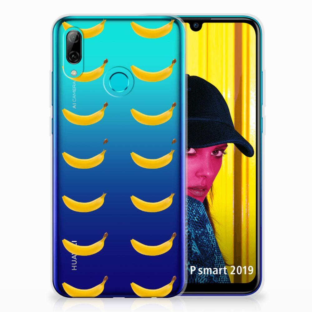Huawei P Smart 2019 Siliconen Case Banana