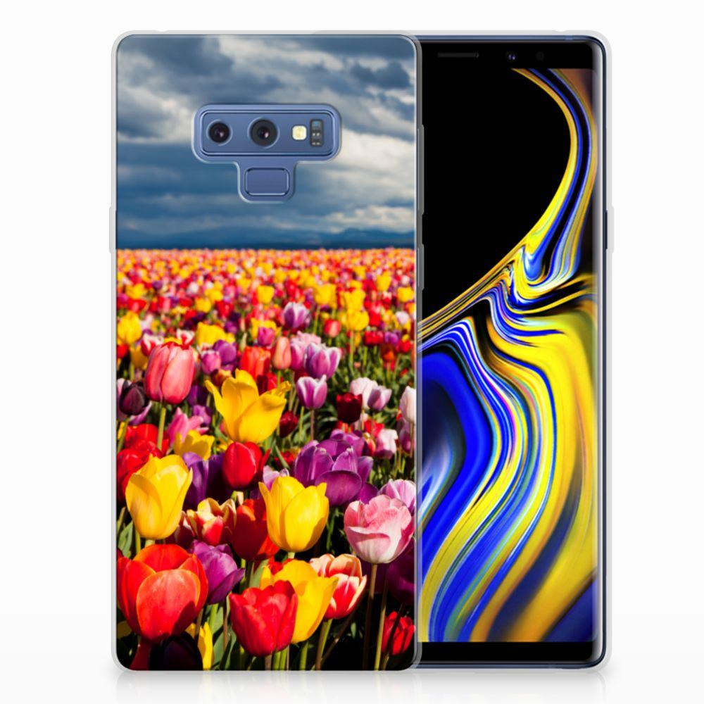 Samsung Galaxy Note 9 Uniek TPU Hoesje Tulpen