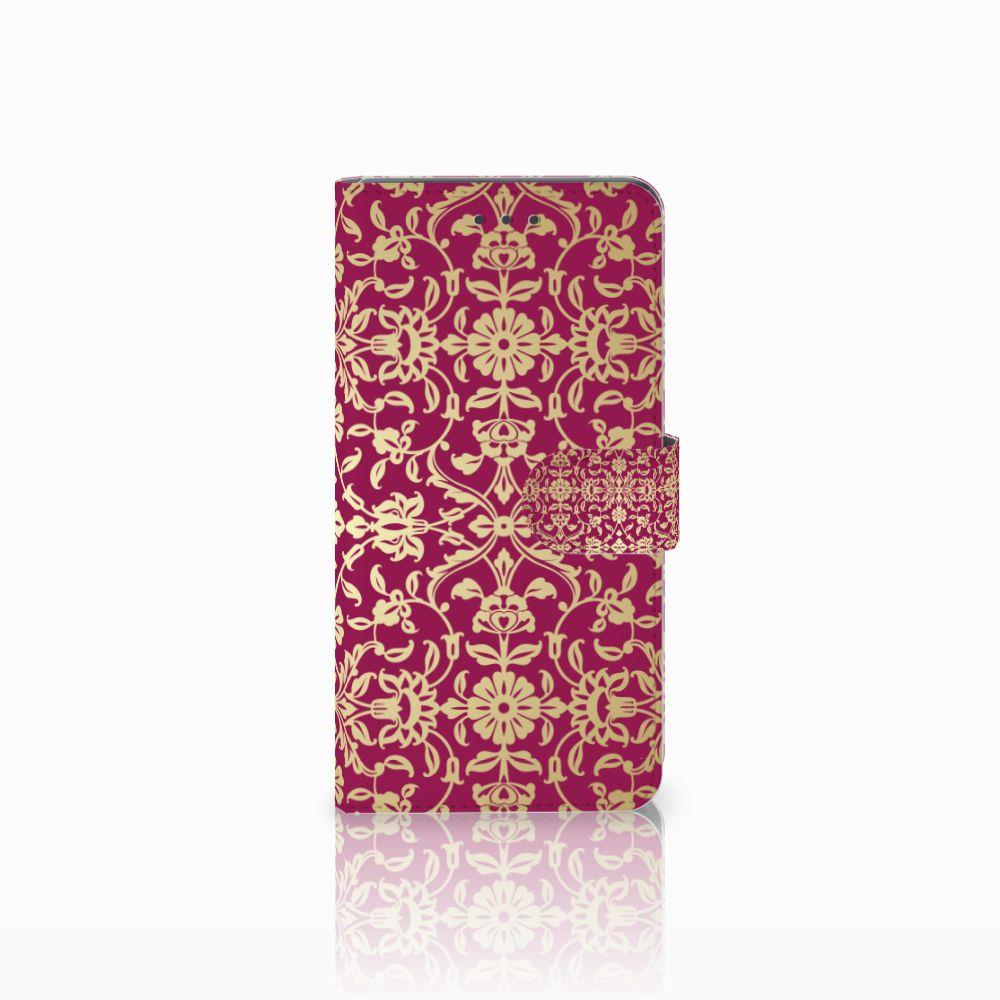 Huawei Mate 8 Boekhoesje Design Barok Pink