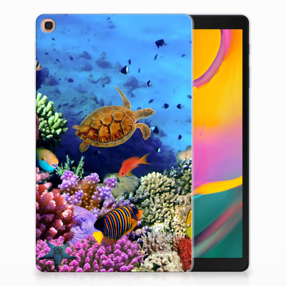 Samsung Galaxy Tab A 10.1 (2019) Back Case Vissen