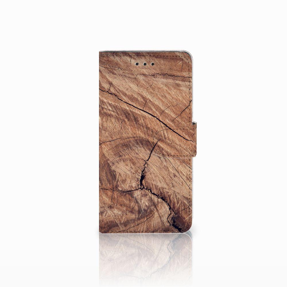 Huawei Y5 2018 Boekhoesje Design Tree Trunk