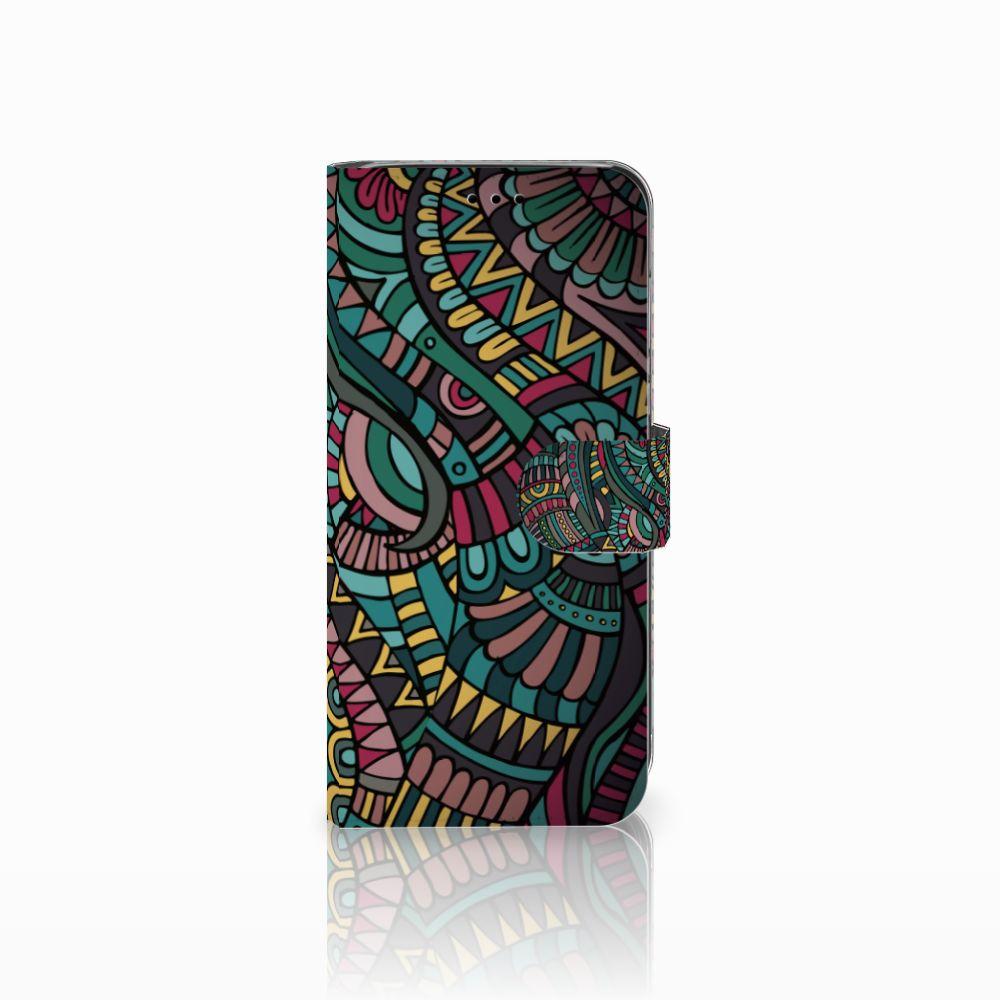 Huawei P20 Lite Boekhoesje Design Aztec