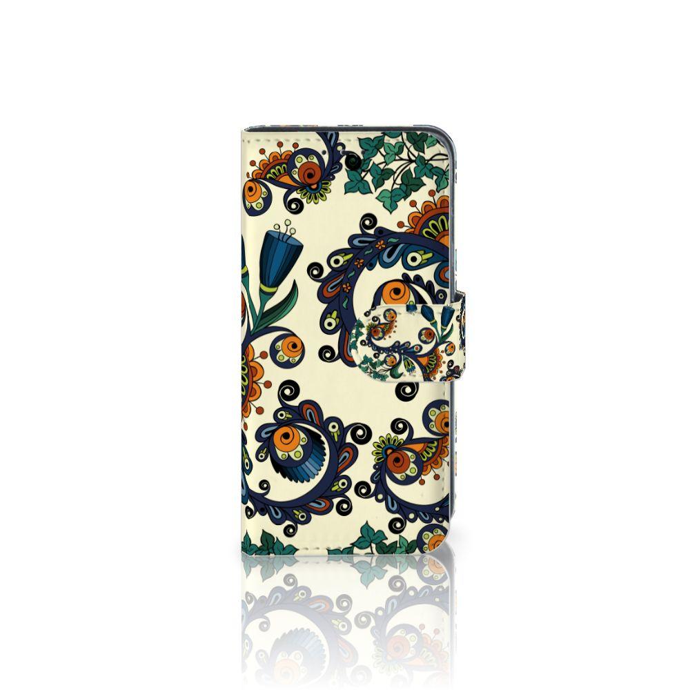 Samsung Galaxy J3 (2018) Boekhoesje Design Barok Flower