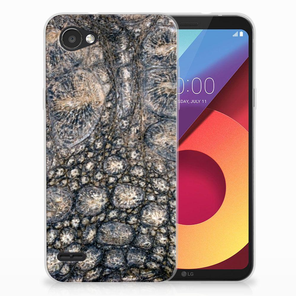 LG Q6 | LG Q6 Plus Uniek TPU Hoesje Krokodillenprint