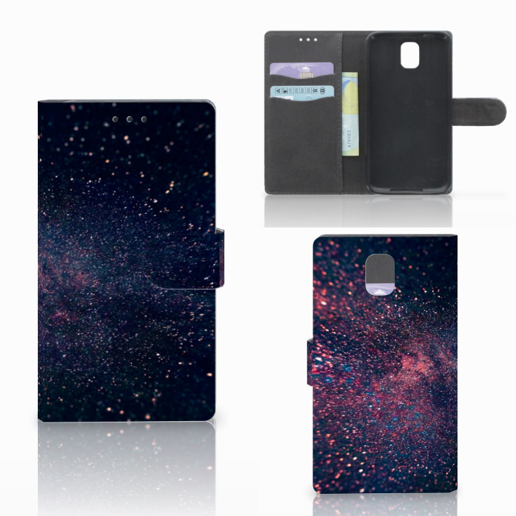 Samsung Galaxy Note 3 Bookcase Stars