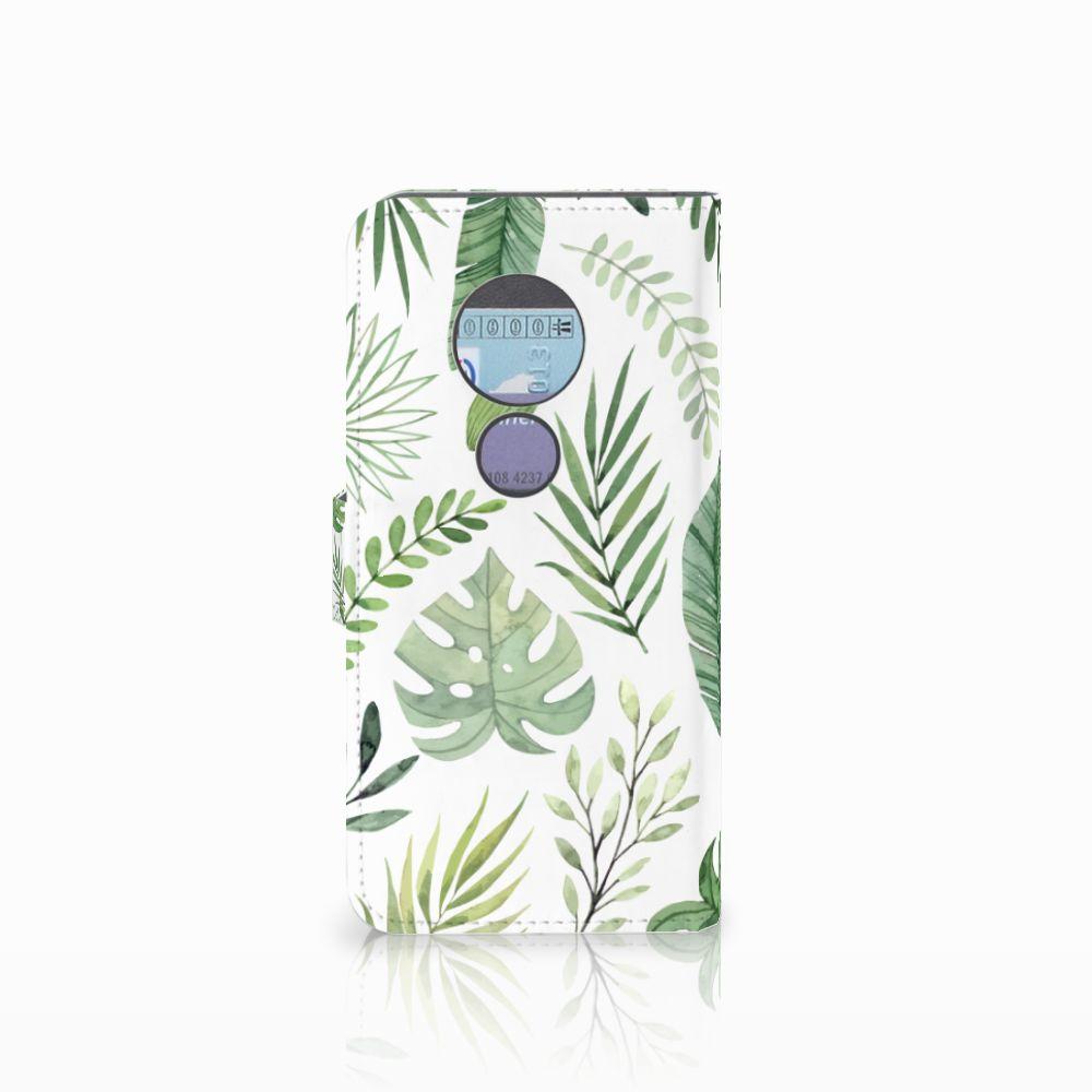 Motorola Moto G6 Play Hoesje Leaves